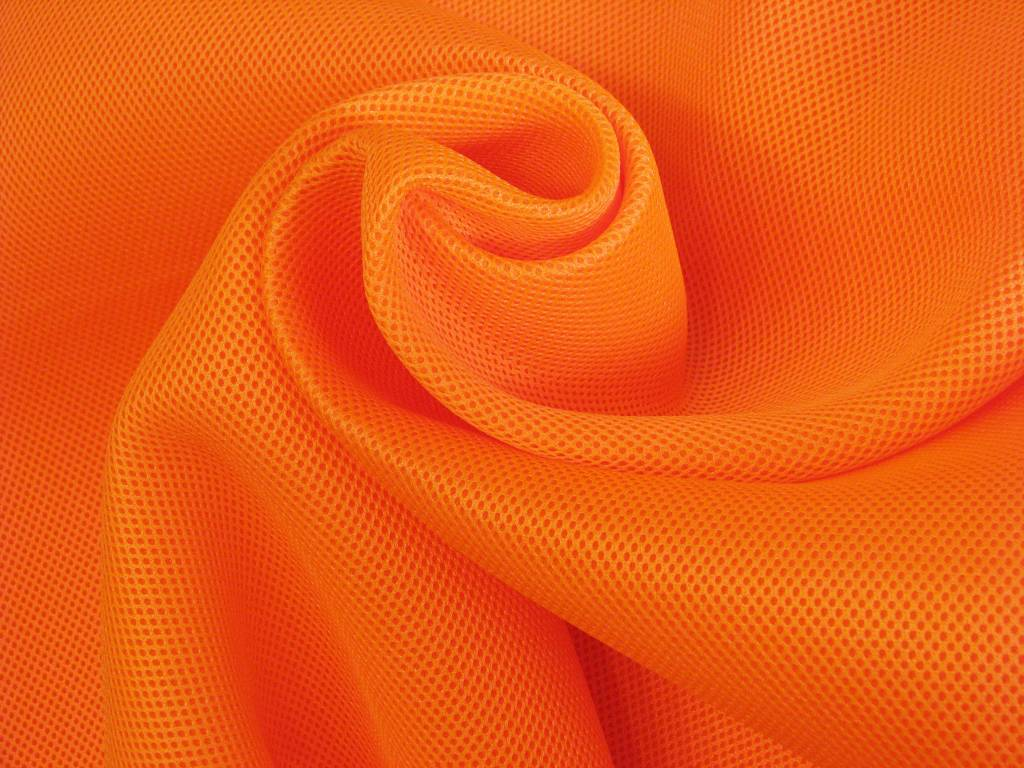 Lasagroom Air Mesh Fabric Neon Orange