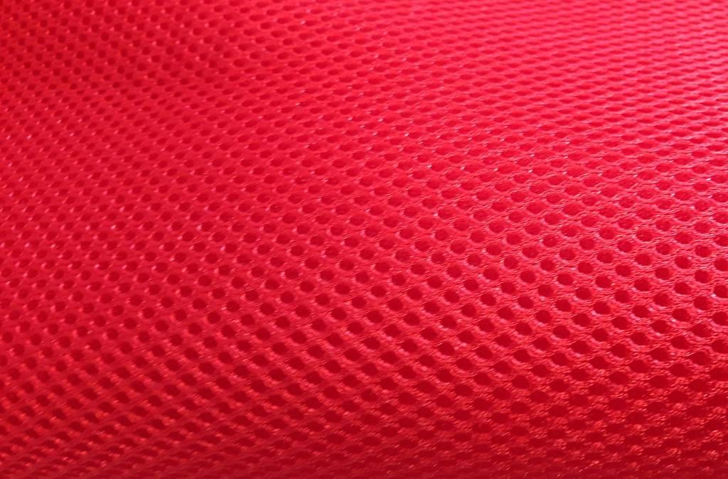 Airmesh Rot 4mm / 1 lfm x 1,60m Breite