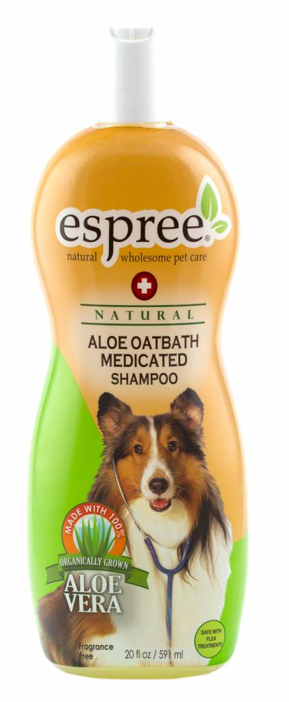 Espree Espree Aloe Oatbath Medicated Hundeshampoo gegen Juckreiz,trockene Haut 591ml
