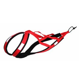 Northern Howl Weight Pulling Dog Harness, X-Back  RED
