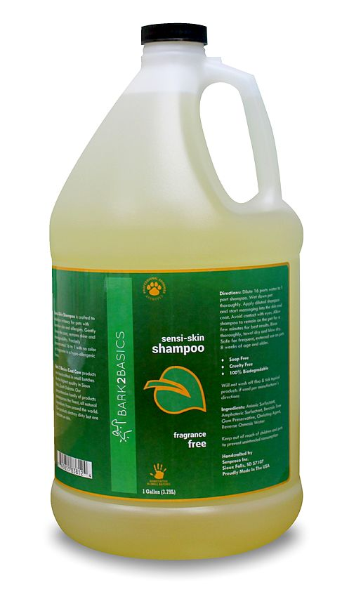 Bark2basics Hypoallergenes Hundehampoo, Bark2Basics Sensi Skin Shampoo