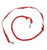 Weight Pulling Dog Harness, X - Back Style - RED + Leash