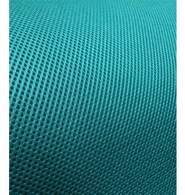 Air Mesh fabric 3d turquoise 4mm / 1,00m length x 1,60m width