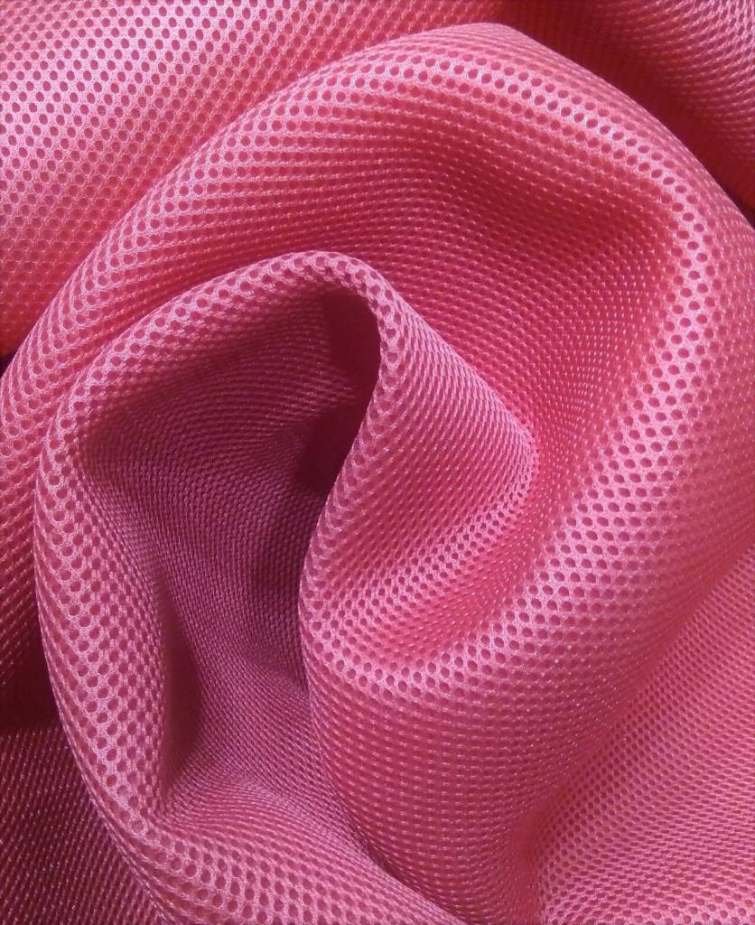 Lasagroom Air Mesh Fabric Pink 4mm