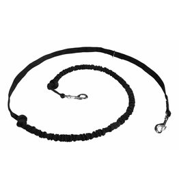 Northern Howl Hands free Dog Leash with integrated Bungee - black