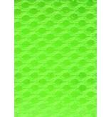 Lasagroom Air Mesh Tissu Vert Fluo 4 mm