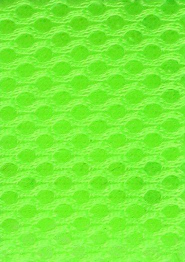 3D Airmesh Neon Green 4mm / 1,00m length x 1,60m width