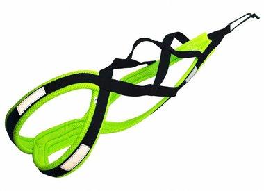 Bikejoring Weight Pulling Dog Harness, X - Back Style