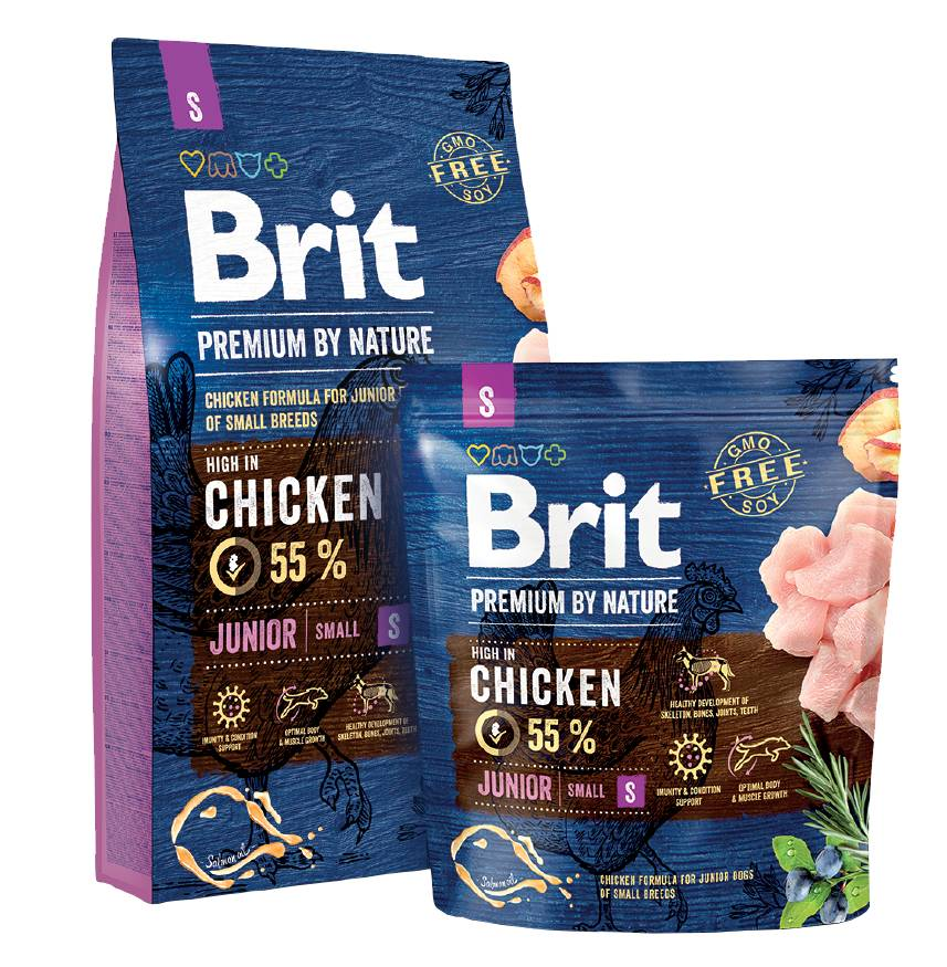 Brit Hundefutter Brit Premium by Nature Junior S