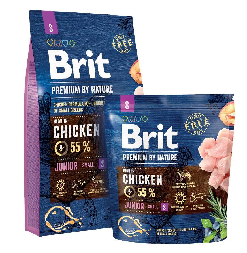 Brit Hundefutter Brit Premium by Nature Junior S