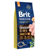 Brit Hundefutter Brit Premium by Nature Junior M