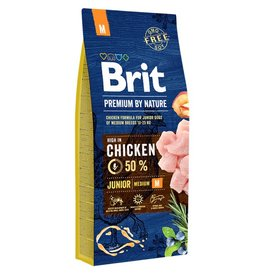 Brit Hundefutter Brit Premium by Nature Junior M