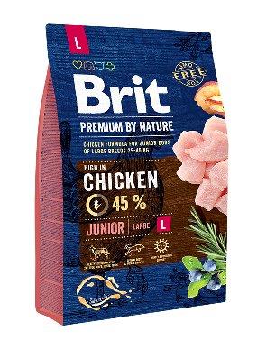 Brit Hundefutter Brit Premium by Nature Junior L