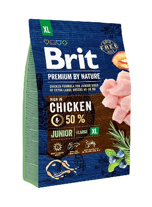 Brit Hundefutter Brit Premium by Nature Junior XL