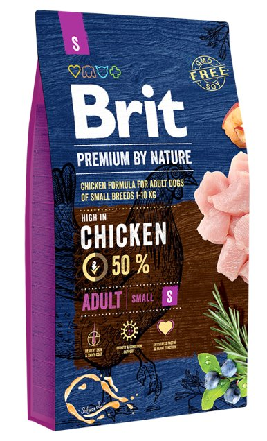 Brit Hundefutter Brit Premium by Nature Adult S