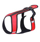 Northern Howl Northern Howl Canicross Sport Harness in Red with Reflectors