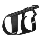 Northern Howl Northern Howl Canicross Sport Harness in black with Reflectors