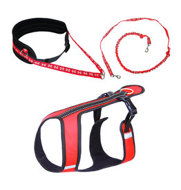 Northern Howl Canicross-Set,  Sport Harness, Joring- Line, Waist Belt