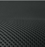 Lasagroom Air Mesh Tissu Anthracite gris foncé 4 mm