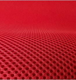 Lasagroom Air Mesh Tissu rouge
