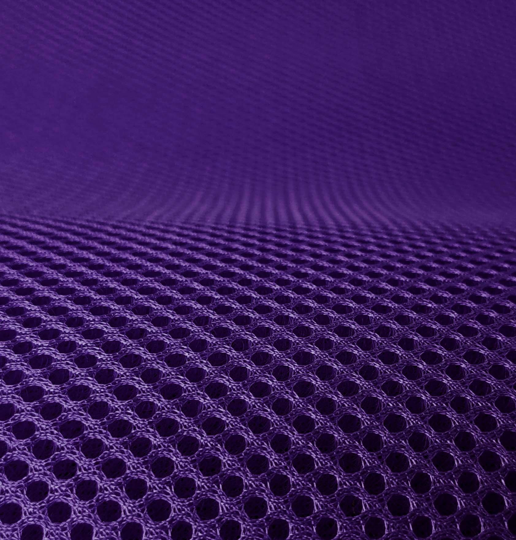 3D Airmesh Purple Violet 4mm / 1,00m length x 1,60m width