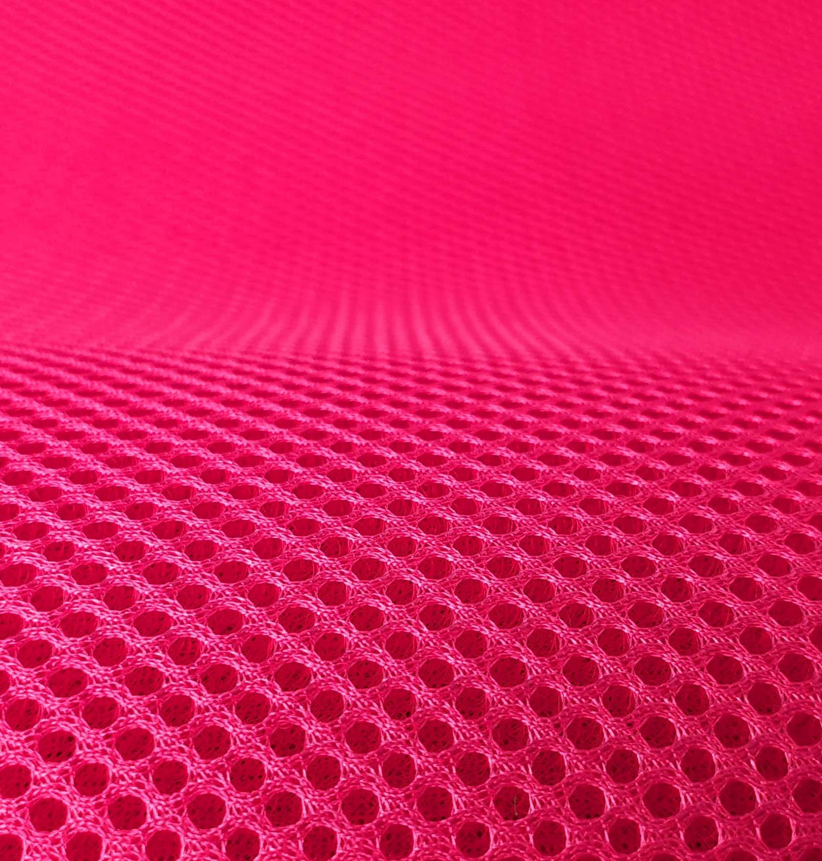 Lasagroom Air Mesh Tissu rose néon 4 mm
