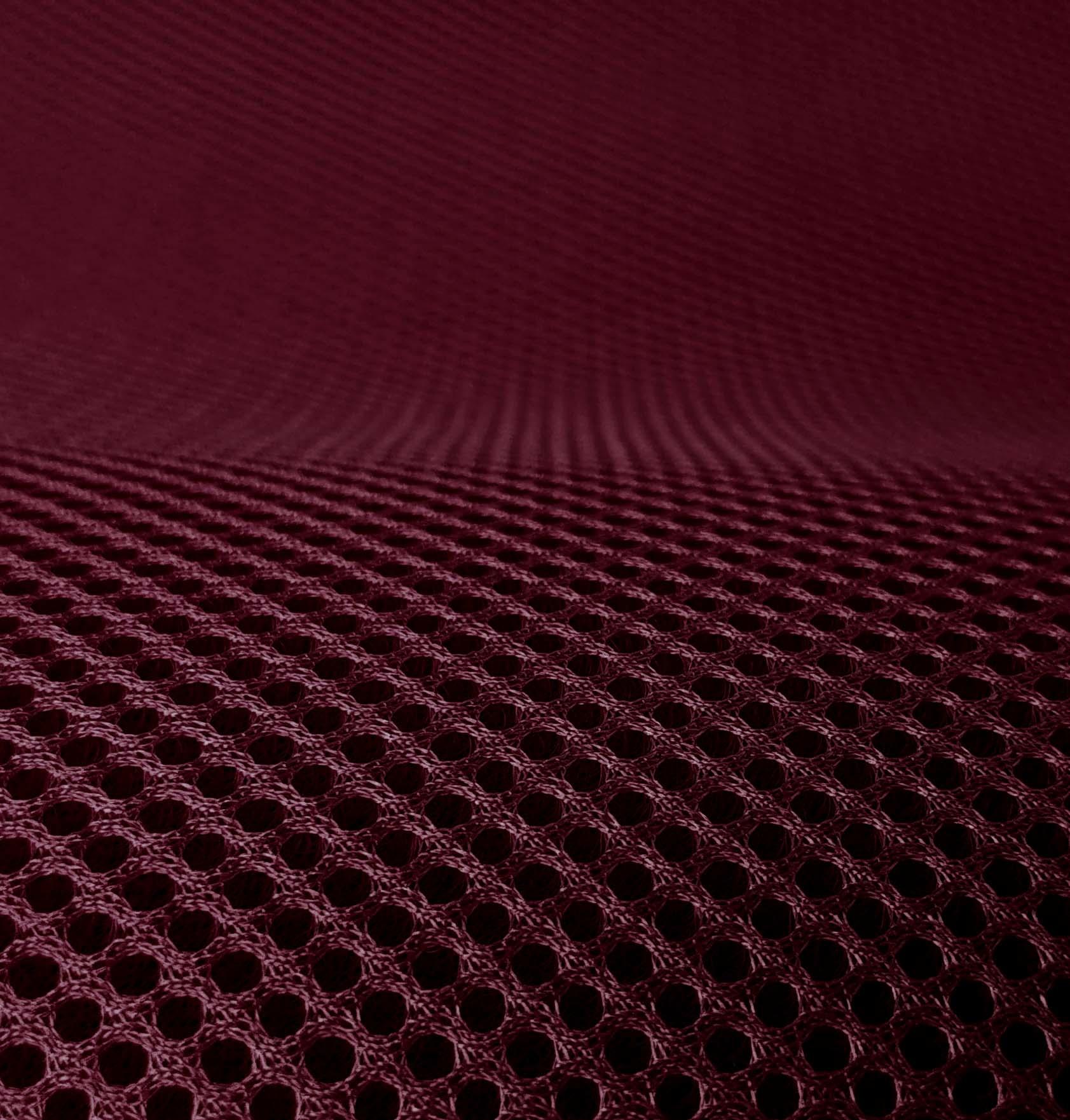 3D Airmesh Bordeaux 4mm / 1,00m length x 1,60m width