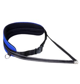 Northern Howl Handsfree Dog Walking Running Jogging Waist Belt - blue