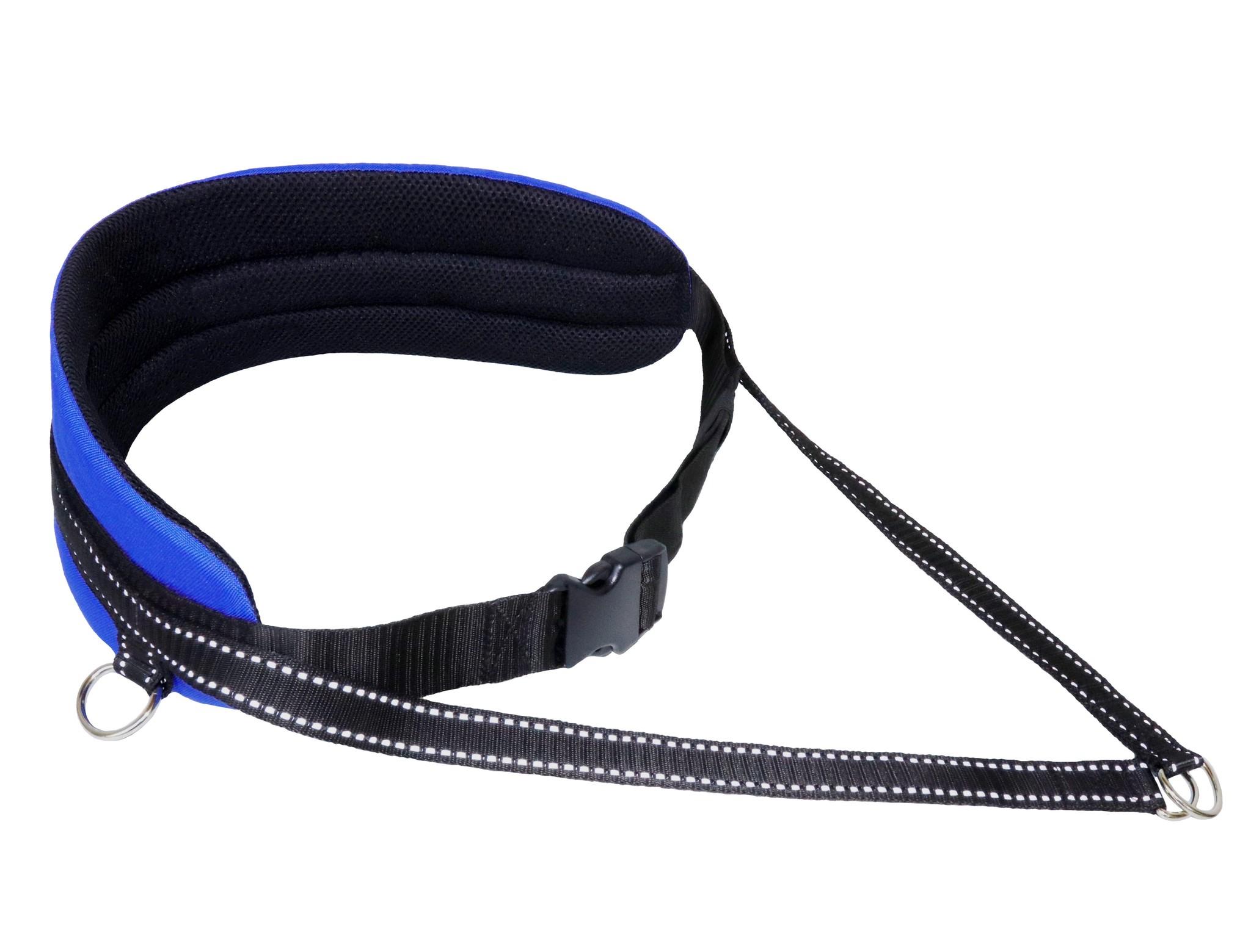 Northern Howl Handsfree Dog Walking Running Jogging Waist Belt - blue