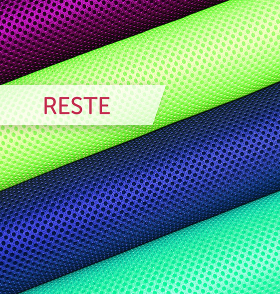 Airmesh Reste - diverse Farben