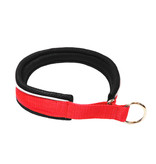 Northern Howl Martingale Training Dog Collar-red/black