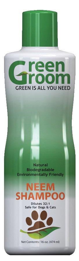 Green Groom Hundeshampoo gegen Flöhe, Green Groom Neem Shampoo