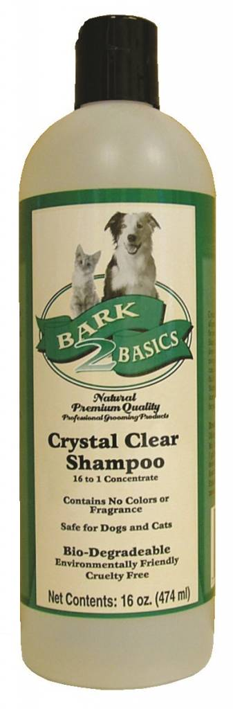 Bark2basics Bark 2 Basics Crystal Clear Shampoo