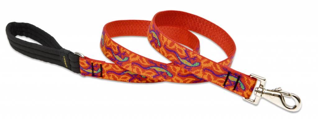 Lupinepet Hundehalsband Go Go Gecko / Breite 25mm