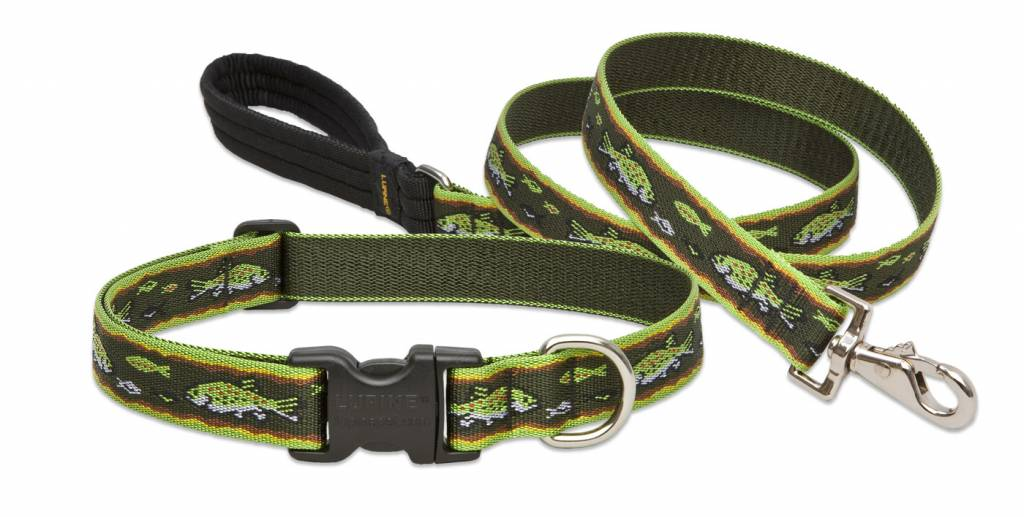 Lupinepet Hundehalsband Brook Trout / Breite 25mm