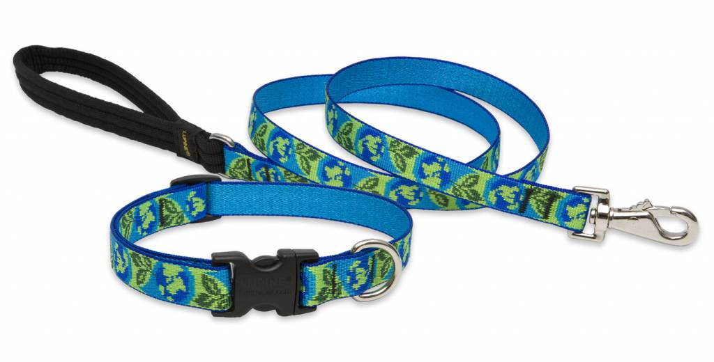 Lupinepet Hundehalsband Earth Day / Breite 19mm