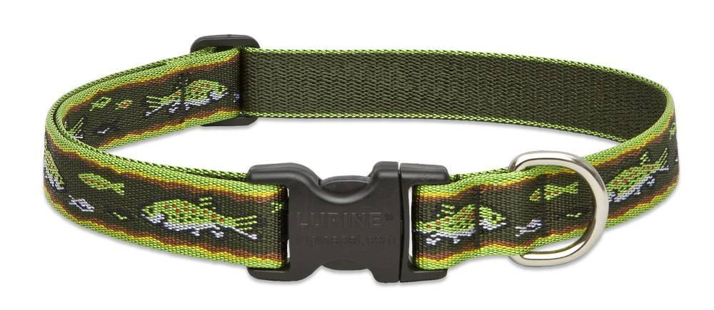 Lupinepet Hundeleine Brook Trout / Breite 25mm