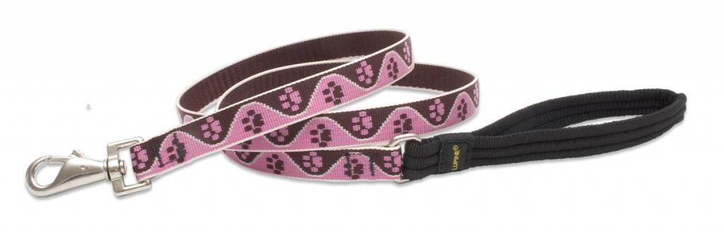 Lupinepet Hundeleine Tickled Pink / Breite 19mm