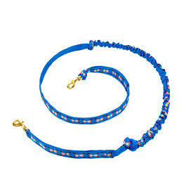 Northern Howl Hands free Dog Joring Leash with integrated Bungee - blue