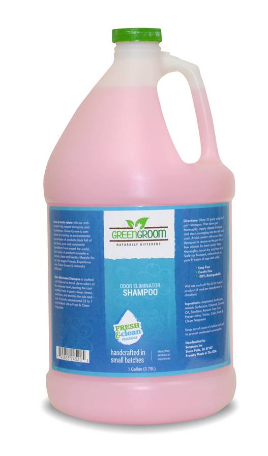 Green Groom Hundeshampoo gegen Geruch, Green Groom Odor Eliminator Shampoo