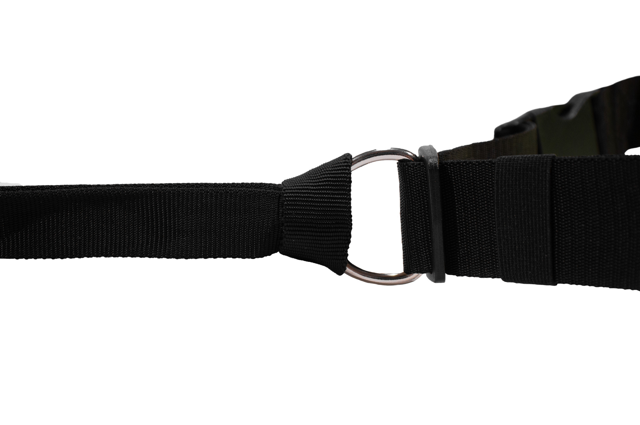 LasaLine Hands free Dog Leash with integrated Bungee - black