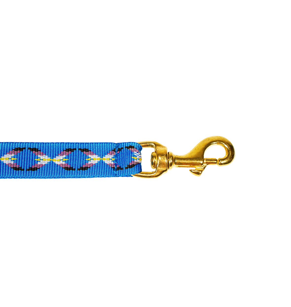 Northern Howl Hands free Dog Leash with integrated Bungee - blue