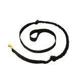 LasaLine LasaLine Jöring Canicross Leine mit integrierten Ruckdämpfer in schwarz