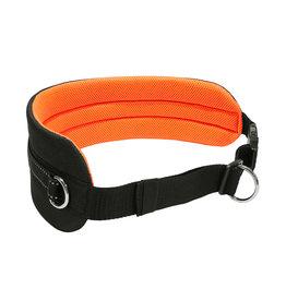 LasaLine Handsfree Dog Walking Running Jogging Waist Belt - neon orange