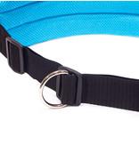 LasaLine LasaLine Canicross Jogging und Laufgürtel mit Reflektoren in Hellblau