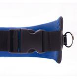 Mains-libres chien marchant Courir jogging Ceinture - bleu foncé Pedding / noir avec réflecteurs - FBA