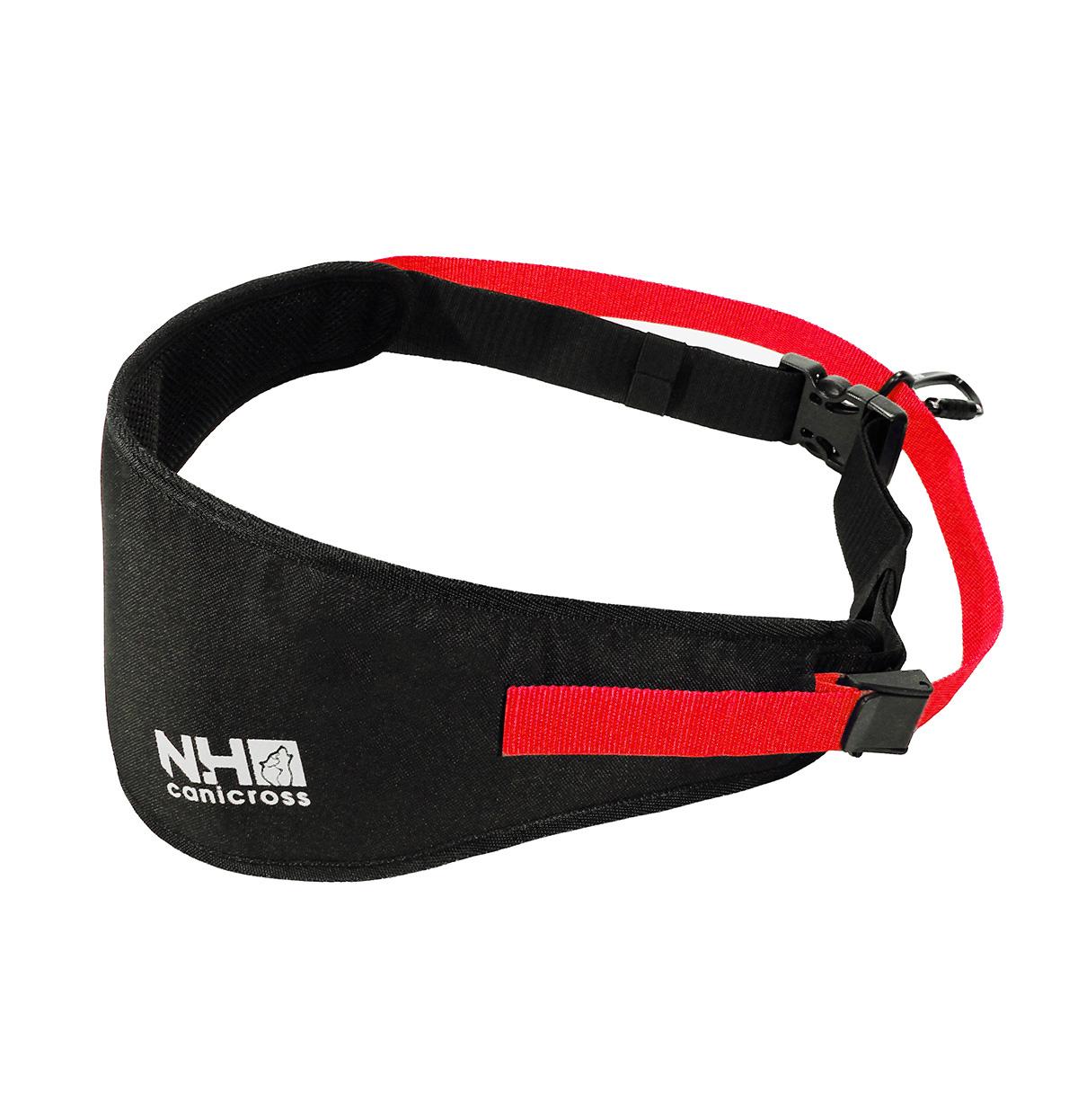 Northern Howl Handsfree Dog Walking Running Jogging Waist Belt - black