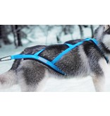Northern Howl Weight Pulling Dog Harness, X-Back Style - Blue - GEB