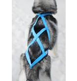 Northern Howl Zuggeschirr für Hunde X-Back Blau für Zughundesport - GEB
