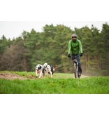LasaLine Weight Pulling Dog Harness, X - Back Style for Canicross, Bike, Sled, Scooter, Bike-, Ski-Joring, Jogging,... in neon orange/black - Copy - Copy